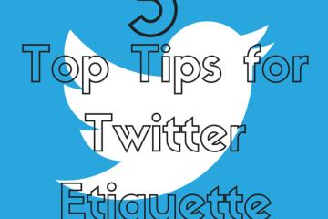 twitter etiquette tips