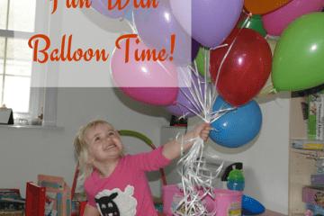 Fun with Balloon TIme