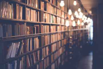 blur book stack books bookshelves