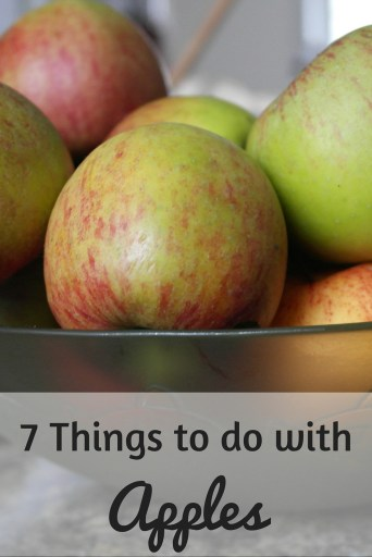 7 Things to do with Apples