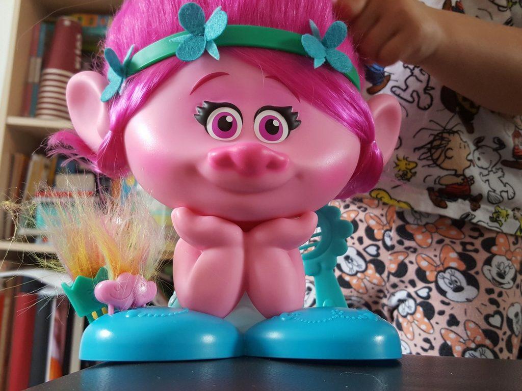 trolls hair styling poppy