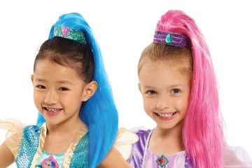 shimmer and shine ponytail