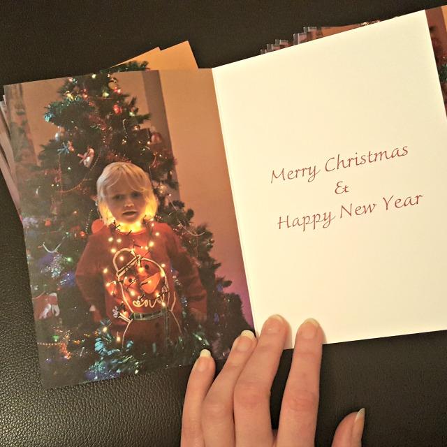personalised christmas card snapfish