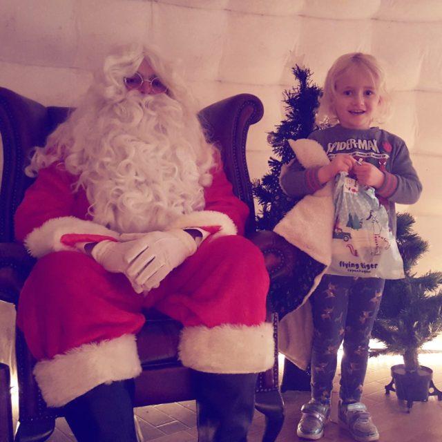 visiting Father Christmas Salisbury