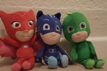 PJ Masks plush toys