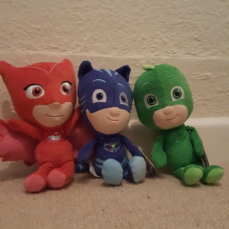 PJ Masks plush toys