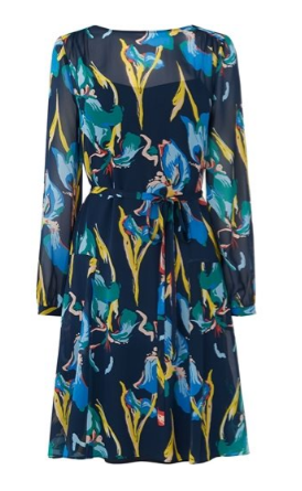 LK Bennett darcy silk floaty dress