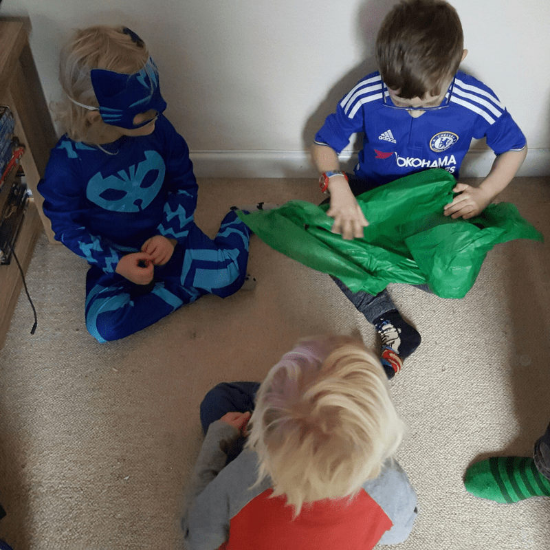 PJ Masks pass the parcel