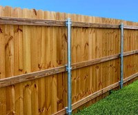 Singleton Fence : Wood Fence