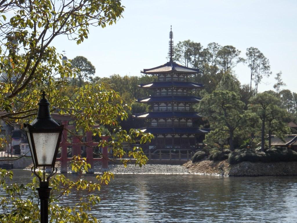 Japanese Pavilion at Disney World