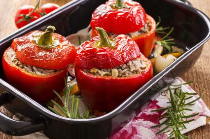 Vegetales Rellenos: 3 Recetas sin Gluten para disfrutar