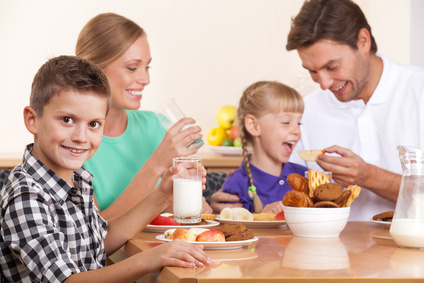 Dieta sin gluten en familia