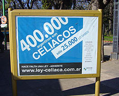Delays in announcing the Argentine Celiac Law