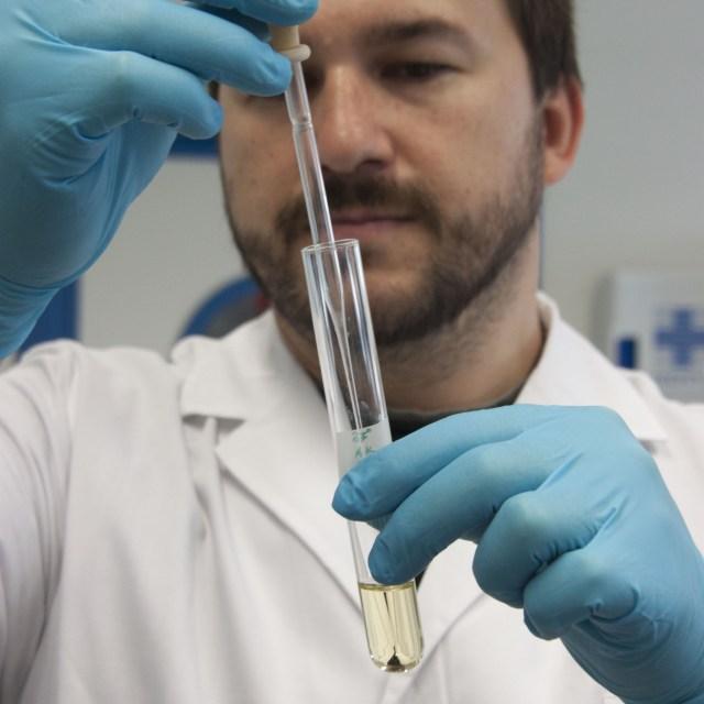 Test rápido de detección de Gluten en un práctico Kit