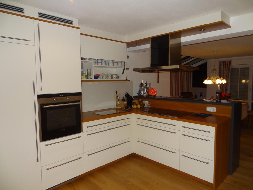 Kche und Wohnzimmer Wanddurchbruch  Buchloe  Singoldbau