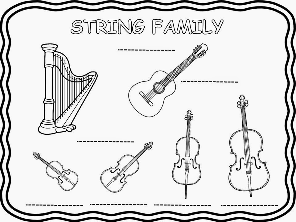 How to teach Instruments and Instrument Families to