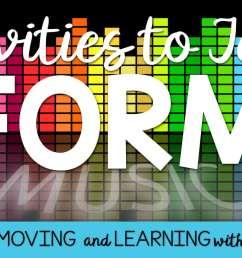 Music Class Activities to Teach Form [ 801 x 1536 Pixel ]