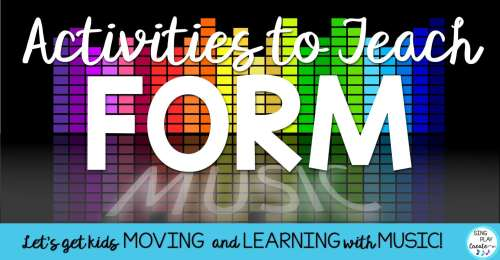small resolution of Music Class Activities to Teach Form
