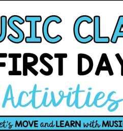 """Music Class First Day Activities"""" [ 801 x 1536 Pixel ]"""