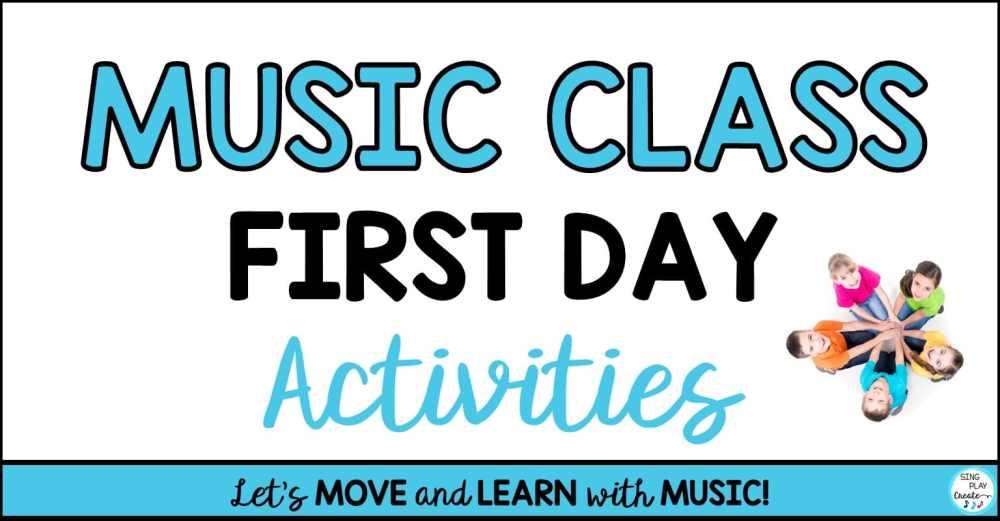 "medium resolution of Music Class First Day Activities"""