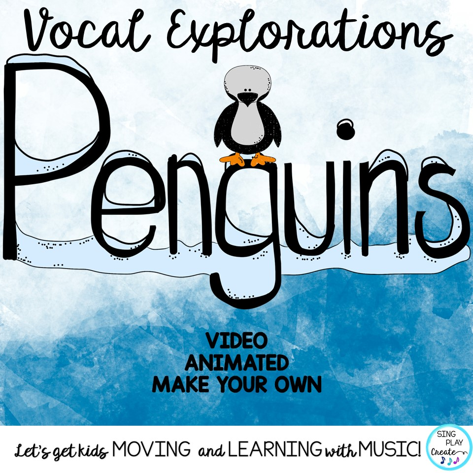 hight resolution of Vocal Explorations: Penguin Winter Theme