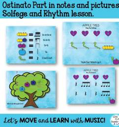 """Music Lesson: """"Apple Tree"""" Upper Elementary Song [ 960 x 960 Pixel ]"""