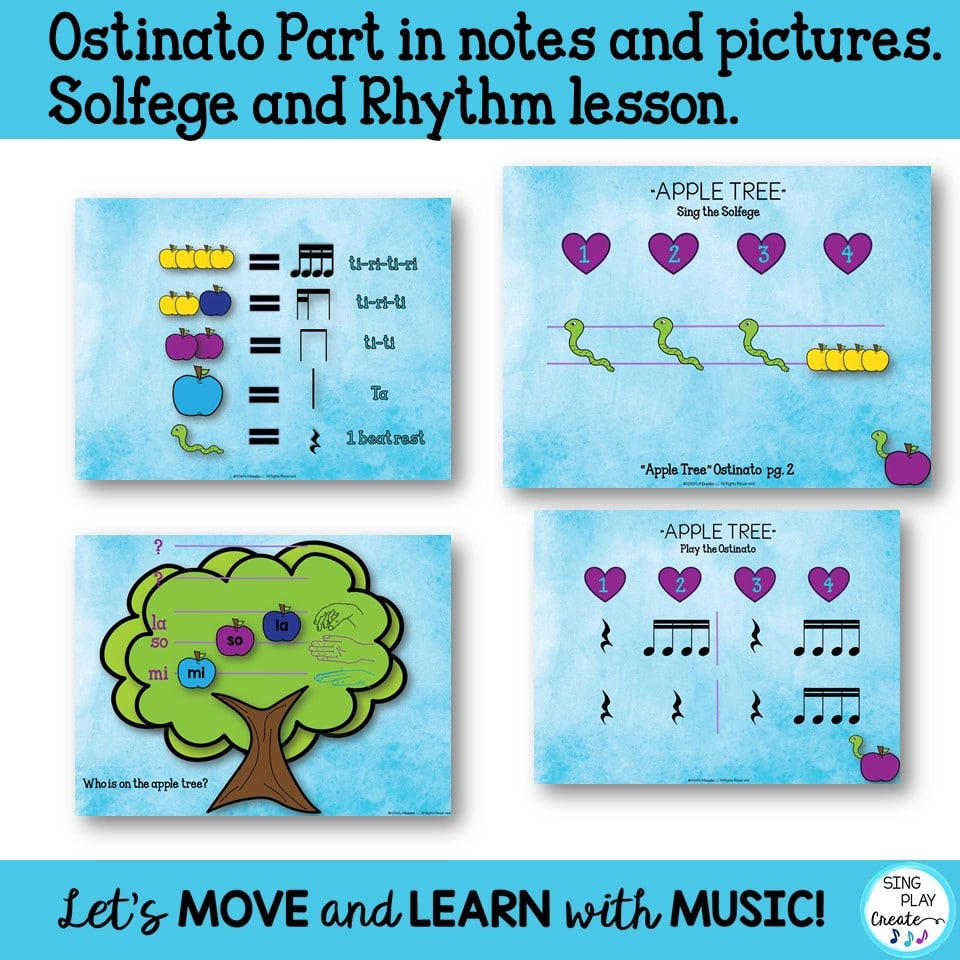 """hight resolution of Music Lesson: """"Apple Tree"""" Upper Elementary Song"""