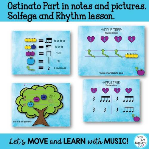 """small resolution of Music Lesson: """"Apple Tree"""" Upper Elementary Song"""