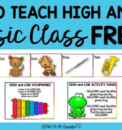 How to Teach High and Low in Music Class [ 801 x 1536 Pixel ]