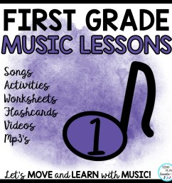 1st Grade Music Lessons – Page 3 [ 960 x 960 Pixel ]