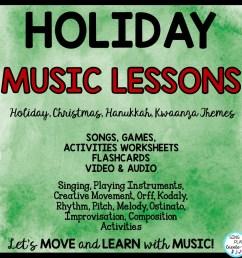 December Music Lessons [ 960 x 960 Pixel ]