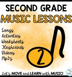 2nd Grade Music Lessons – Page 3 [ 960 x 960 Pixel ]