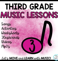 3rd Grade Music Lessons – Page 3 [ 960 x 960 Pixel ]