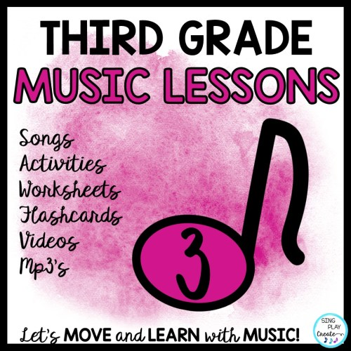 small resolution of 3rd Grade Music Lessons – Page 3