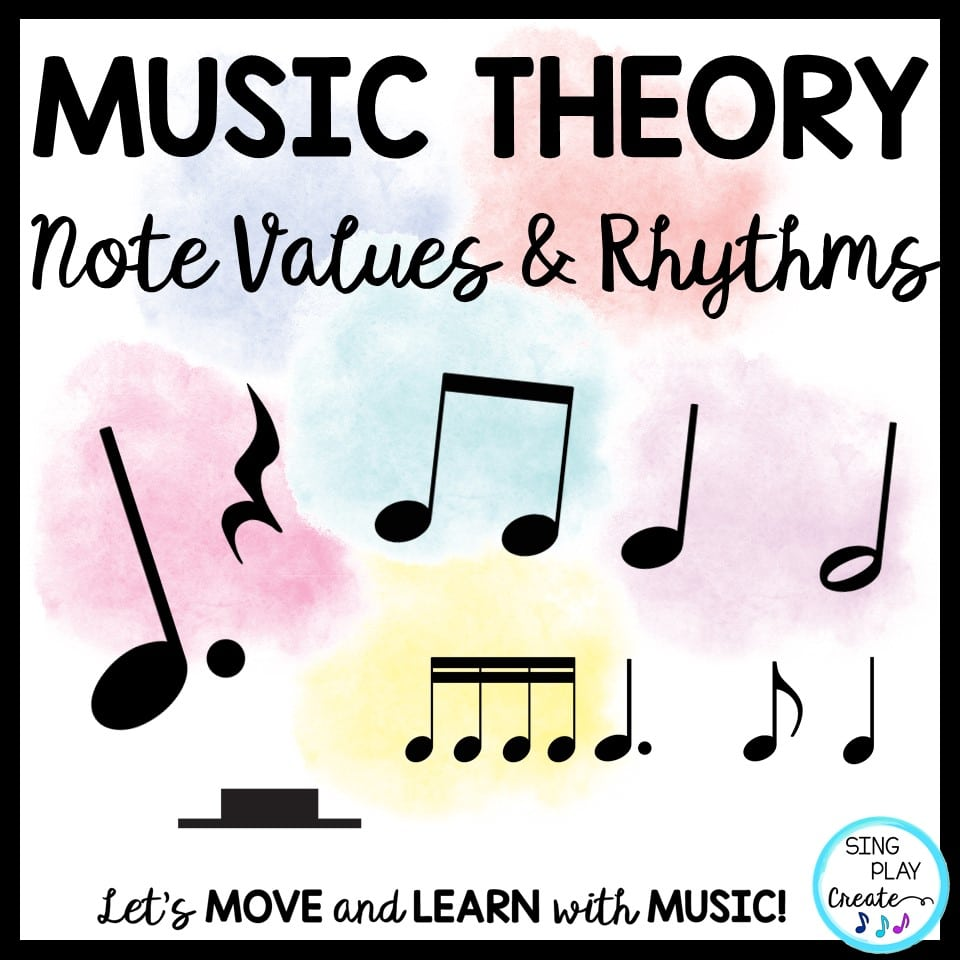 hight resolution of Music Theory Lessons: Note \u0026 Rest Values