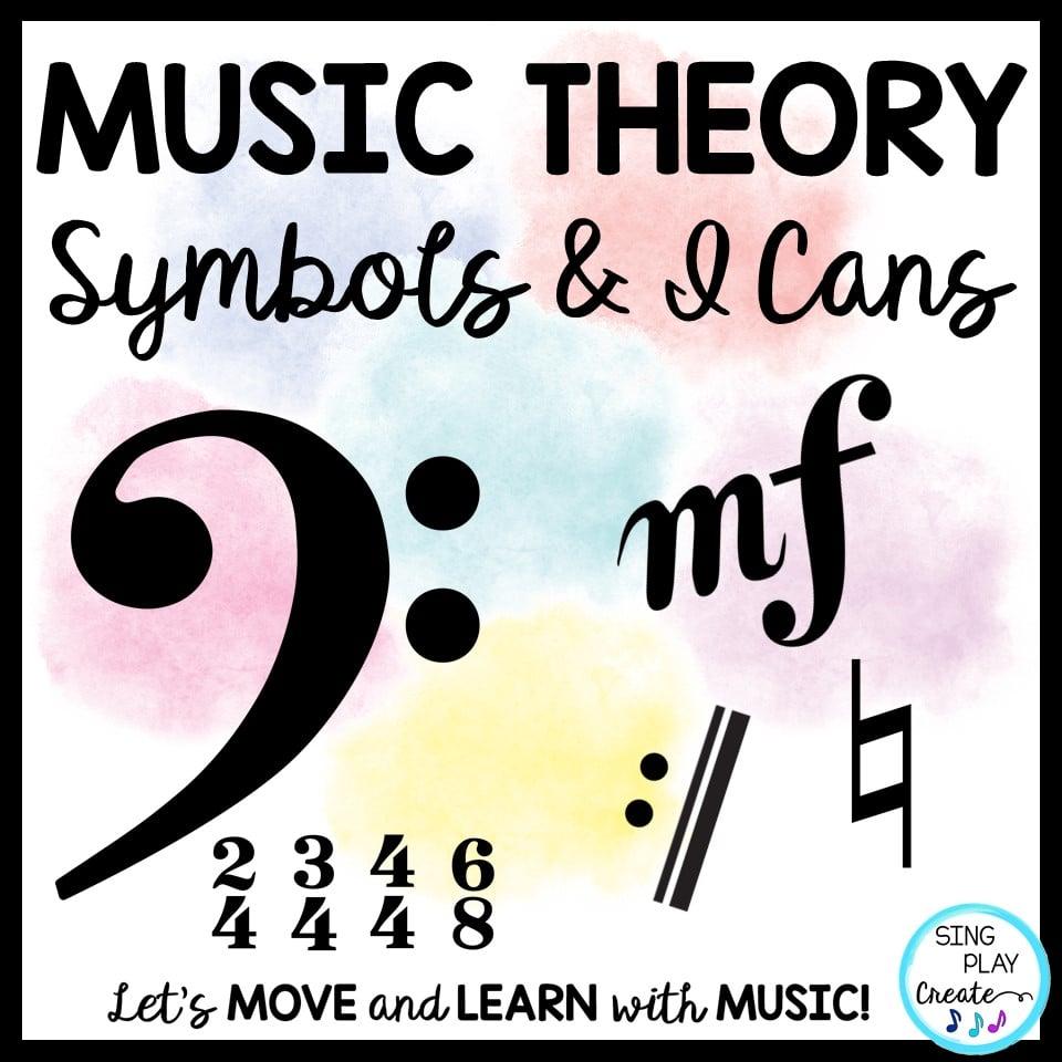 hight resolution of Music Theory Symbols: Presentation