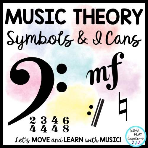small resolution of Music Theory Symbols: Presentation