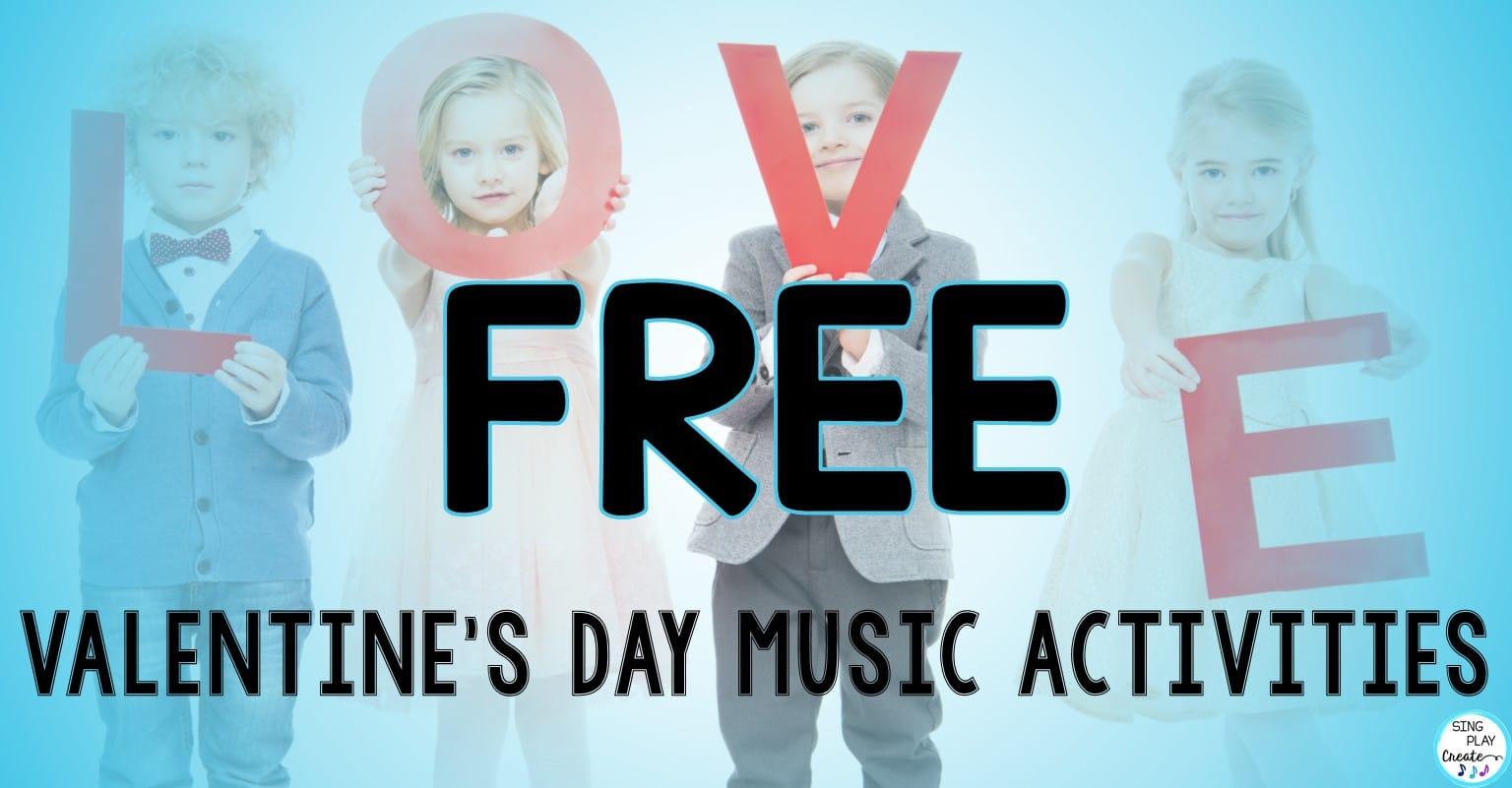 Free Valentine S Day Music Class Activities