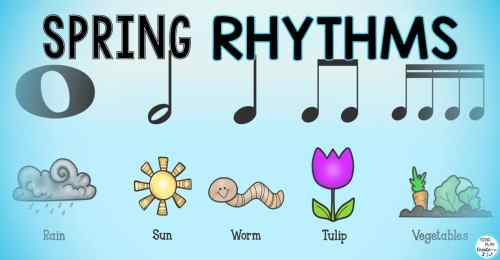 small resolution of Music Activities with Spring Rhythms