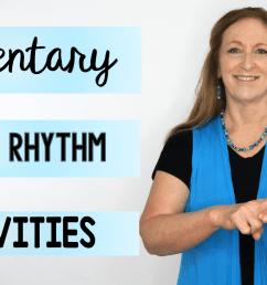 Elementary Music Virtual Rhythm Activities [ 720 x 1280 Pixel ]