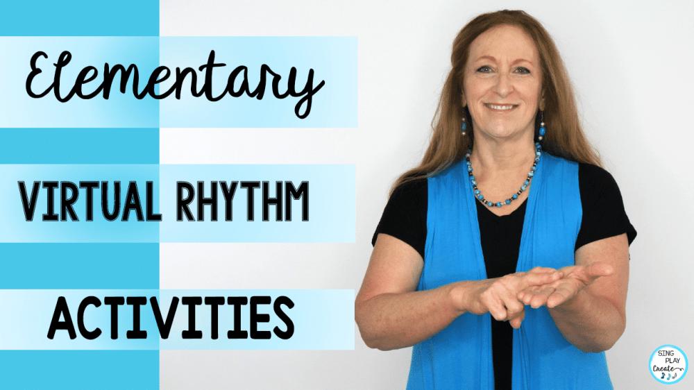 medium resolution of Elementary Music Virtual Rhythm Activities