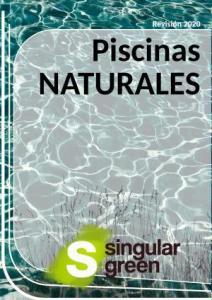 Catálogo con descripciones de piscinas naturalizadas