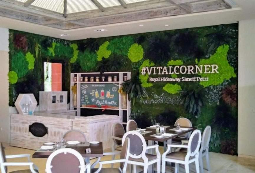Jardines verticales de planta conservada