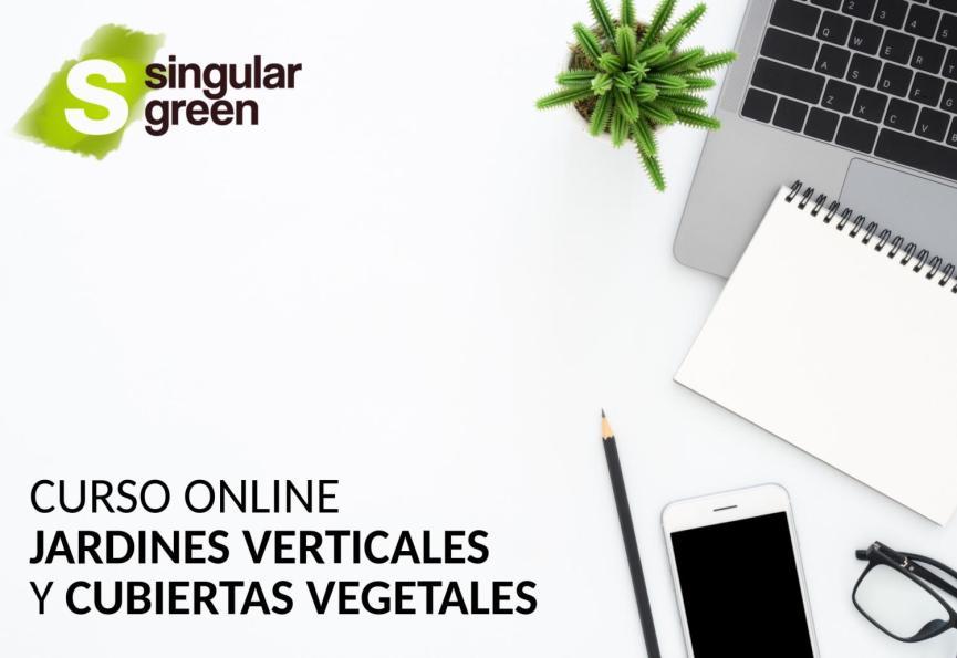 Curso online de jardines verticales y cubiertas vegetales