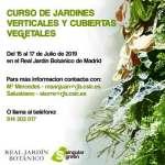Curso en el jardín botánico Madrid