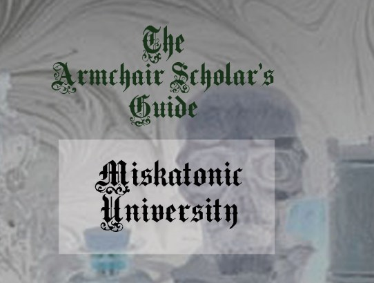 Notes from the Armchair Scholar