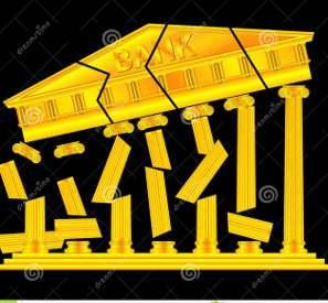 crollo dei detriti di simbolo di architettura della banca 29944578