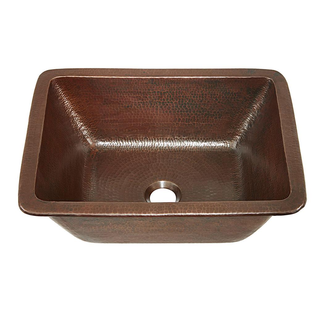 Hawking Copper Bathroom Sink  Sinkology