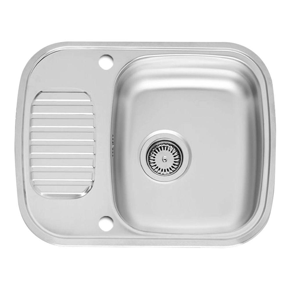 reginox regidrain single bowl kitchen sink rl226s