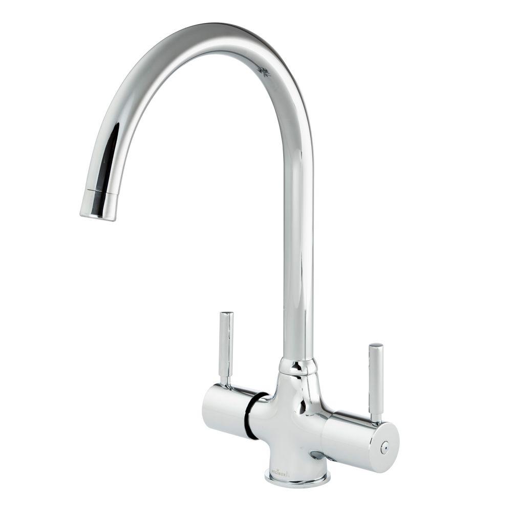kitchen taps bistro table reginox thames tap sinks com dual lever